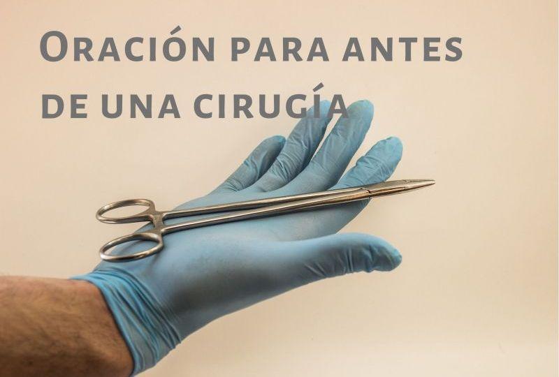 oracion antes de una crugia
