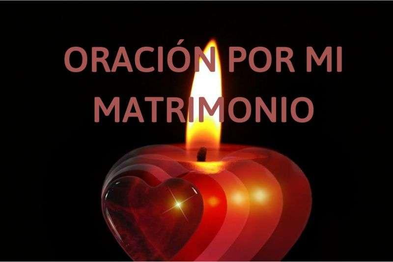 oracion por el matrimonio