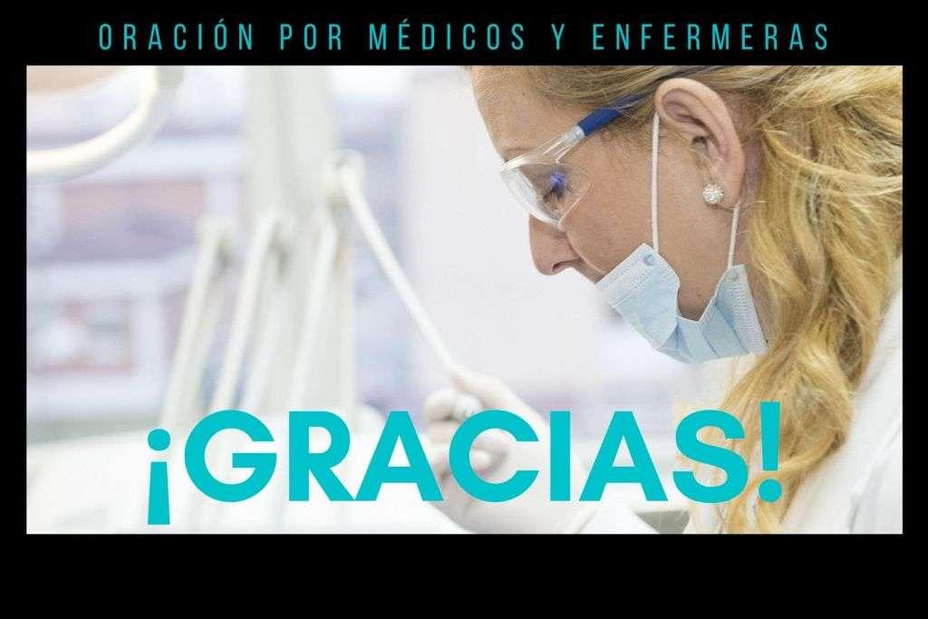 oración para pedir por los médicos y enfermeras