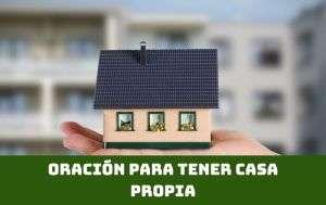 oración para pedir una casa