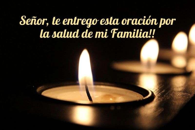 oracion para la salud de la familia