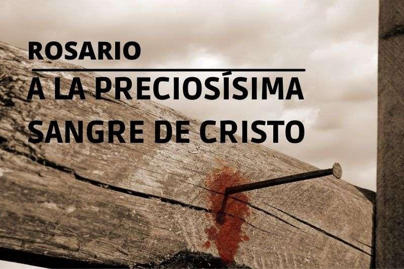 devocional a la preciosa sangre de cristo