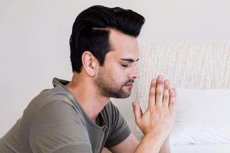 oración de buenas noches a Jesús
