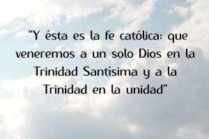 credo de la fe catolica