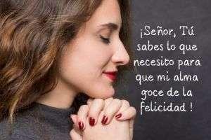 oracion de la felicidad
